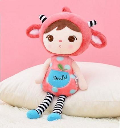 Lalka Metoo personalizowana Purpurowy Elf XL 70 cm
