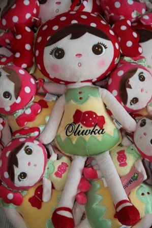 Lalka Metoo personalizowana Red Candy Cukiereczek