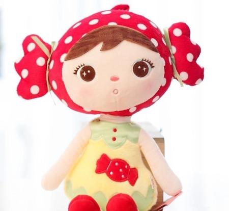 Lalka Metoo personalizowana Red Candy Cukiereczek XL 70 cm