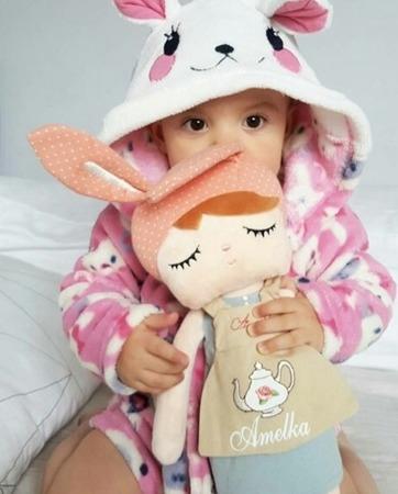 Lalka personalizowana z uszami Królisia