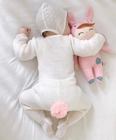 Lalka personalizowana z uszami Metoo Angela Pink Bunny