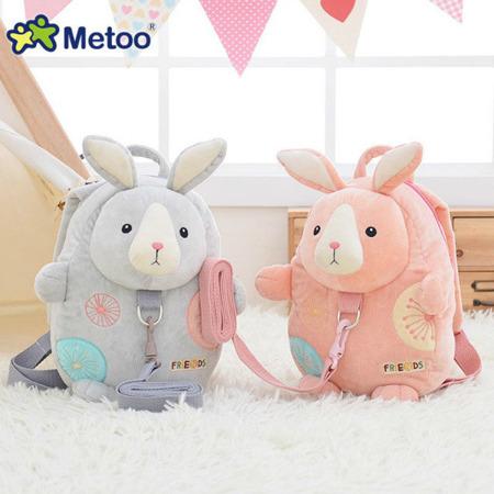 Plecak Metoo Różowy Królik Friends