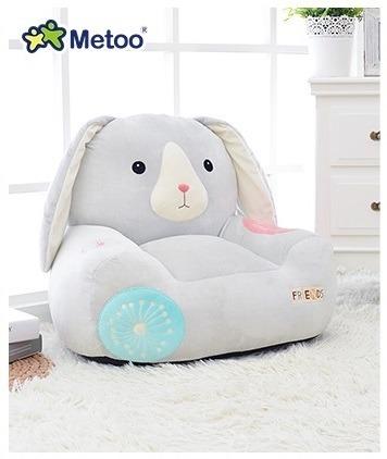 Sofa personalizowana Metoo Niebieska Królik Friends