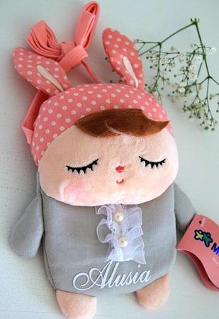 Torebka Metoo personalizowana Króliczek Angela Grey Bunny