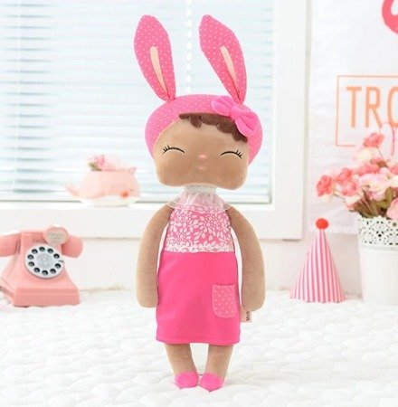 Metoo Angela Personalized Mulatto Bunny Dolls