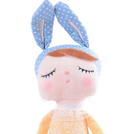 Metoo Angela Bunny Doll in Yellow Dress