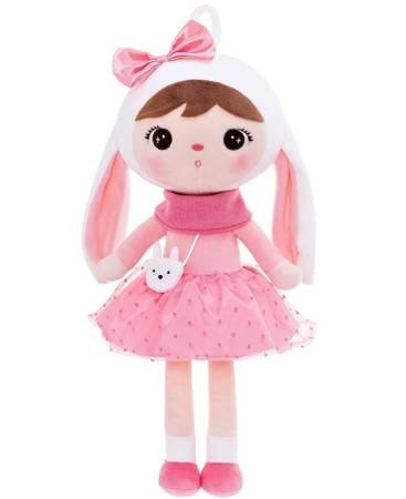 Metoo Bunny Doll with Bow  *PRESALE*