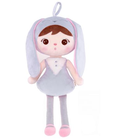 Metoo Grey Bunny Girl Doll