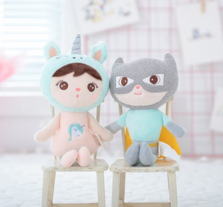 Metoo Mini Unicorn Girl Doll