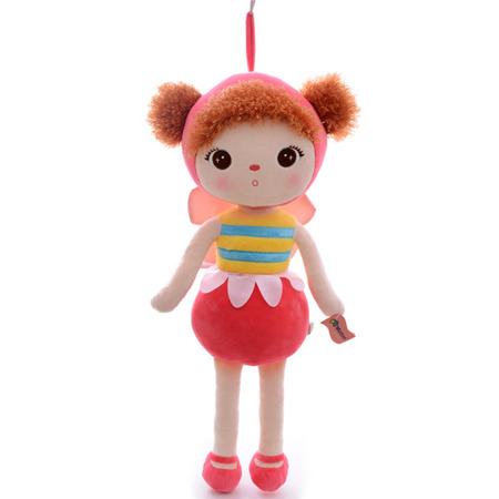 Metoo Personalized Bee Girl Doll
