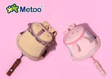 Metoo Personalized Blue Backpack Friends