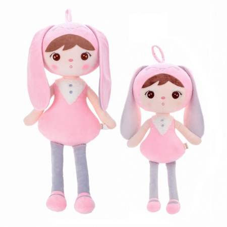 Metoo Personalized Bunny Girl XL Doll 70 cm