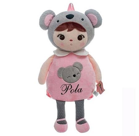 Metoo Personalized Koala Girl Backpack