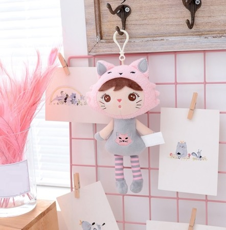 Metoo Personalized Mini Cat Girl Doll