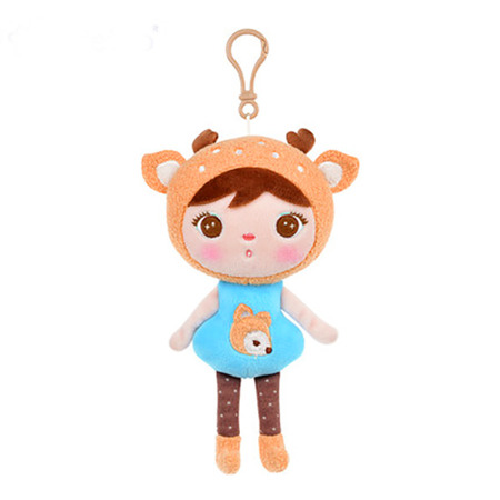 Metoo Personalized Mini Deer Girl Doll