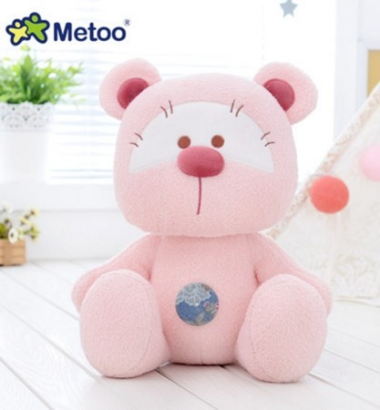 Metoo Personalized Pink Bear