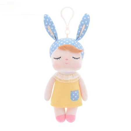 Mini Metoo Angela Personalized Bunny Doll in Yellow Dress