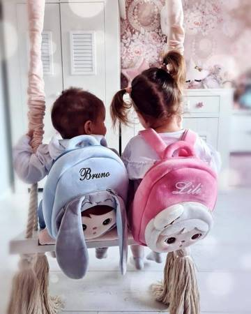 Personalized Bunny Boy Backpack