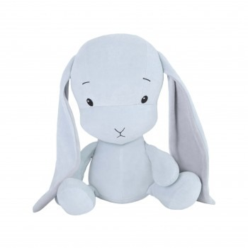 Personalized Bunny Effik S - Blue with Gray ears 20 cm