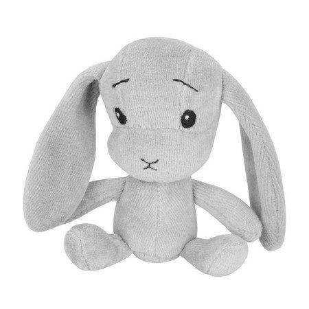 Personalized mini bunny Effiki - grey