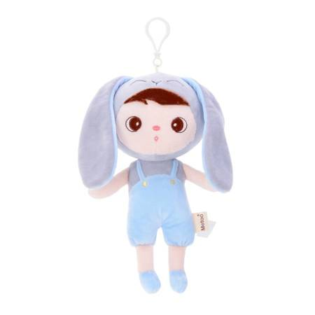 Set of Dolls - Personalized Grey Bunny and Mini Doll