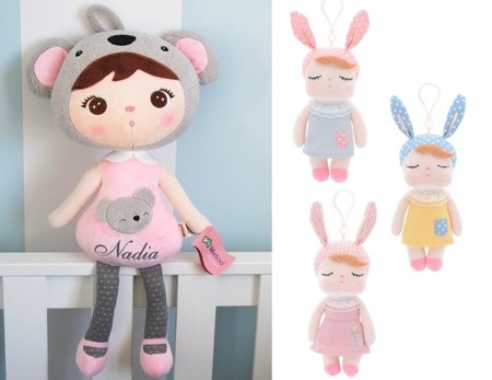 Set of Dolls - Personalized Koala and Mini Angela