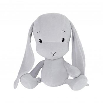 Effik Królik M personalizowany - Szary z Szarymi uszami 35 cm